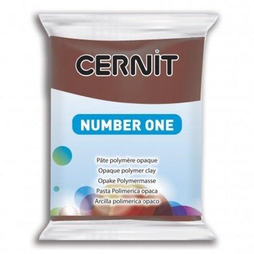 Cernit Cernit Nr 1 56 gram Bruin 800