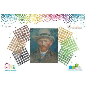 PixelHobby Pixelhobby Geschenkverpakking 5639 Zelfportret Vincent van Gogh