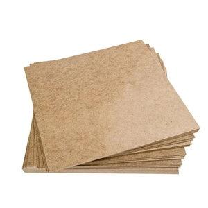 Masonite plaat 30 x 30 cm