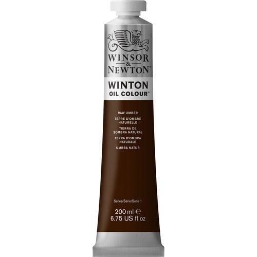 Winsor & Newton Winton olieverf 200 ml Raw Umber 554