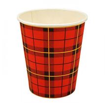 Kartonnen Schotse Ruit Koffiebeker Scotty in 150ml of 180ml