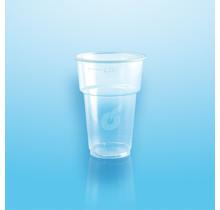 50st. Plastic Bierglazen