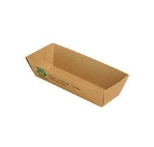 80st. BIO Snackbakjes kroket A5 FSC karton 100% Fair 105x33x30mm