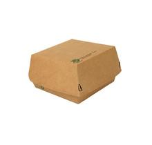 80st. Hamburgerbakjes Medium FSC karton 100% Fair 115x110x70mm