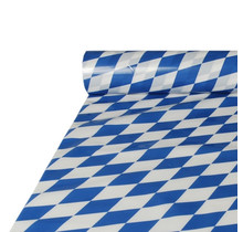 Kunststof tafelrol Beiers blauw 20 x 1 M