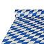 Papstar Kunststof tafelrol Beiers blauw 20 x 1 M