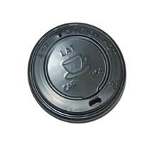 1000st. Deksel zwart voor espresso koffiebeker Ø62mm 120ml 4oz