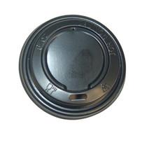 1000st. Deksel zwart voor koffiebeker Ø71mm 180ml 6.5oz