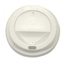 1000st. Deksel wit voor koffiebeker Ø90mm 300ml - 350ml - 450ml