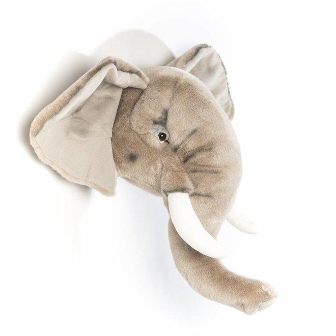 Dierenkop Trophy Olifant George   Wild & Soft