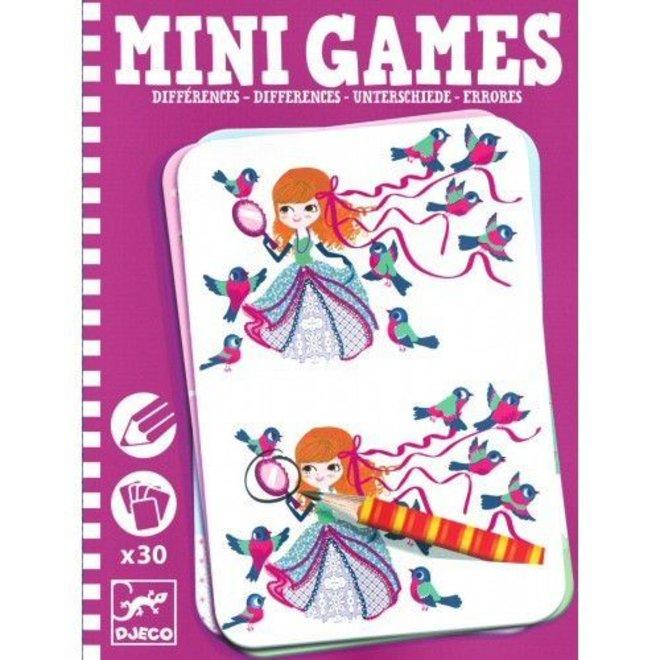 Mini Games verschillen zoeken prinses Léa | Djeco