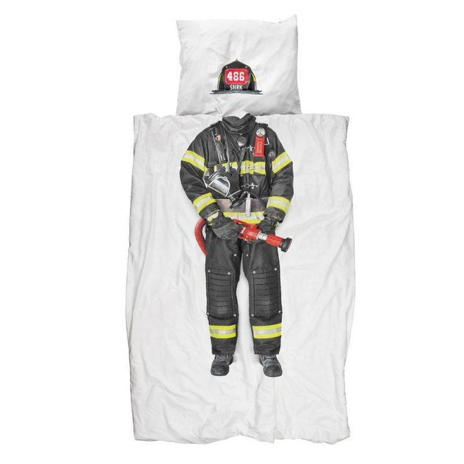 Dekbedovertrek brandweerman | Snurk