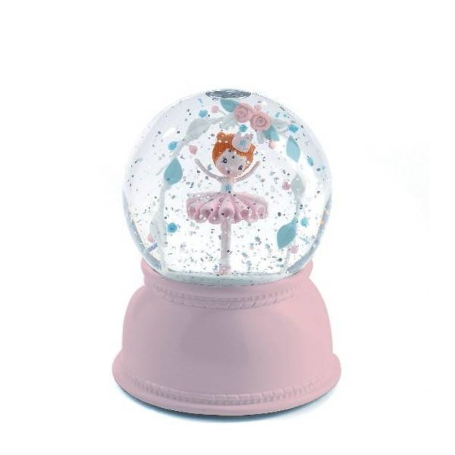Nachtlampje en sneeuwbol ballerina | Djeco