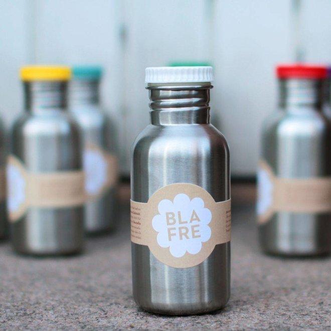 Coole stalen drinkfles 500ml zacht blauw | Blafre