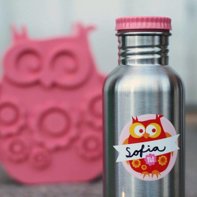 Coole stalen drinkfles 500ml Roze | Blafre