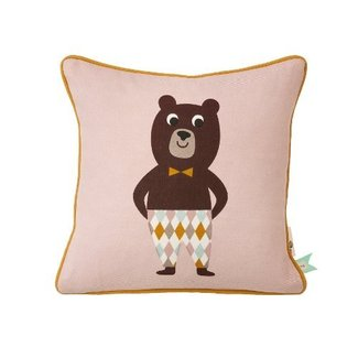 Ferm Living Vierkant kussen Mr. Bear | Ferm Living