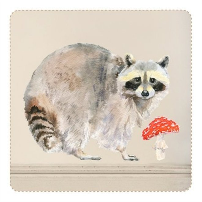 Muursticker wasbeer - Chocovenyl
