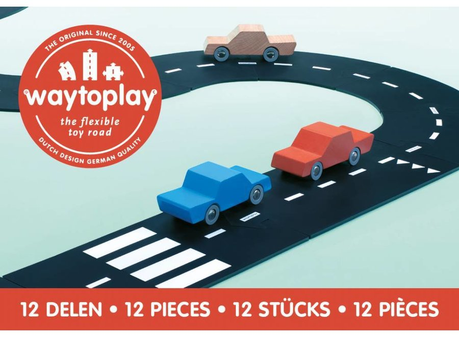 Autobaan Ringweg (12-delige set)   WaytoPlay
