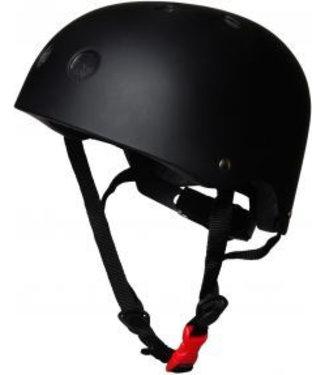 Kiddimoto Skate- & fietshelm 'matte black' | Kiddimoto