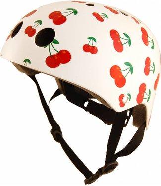 Kiddimoto Skate- & fietshelm 'cherry' | Kiddimoto