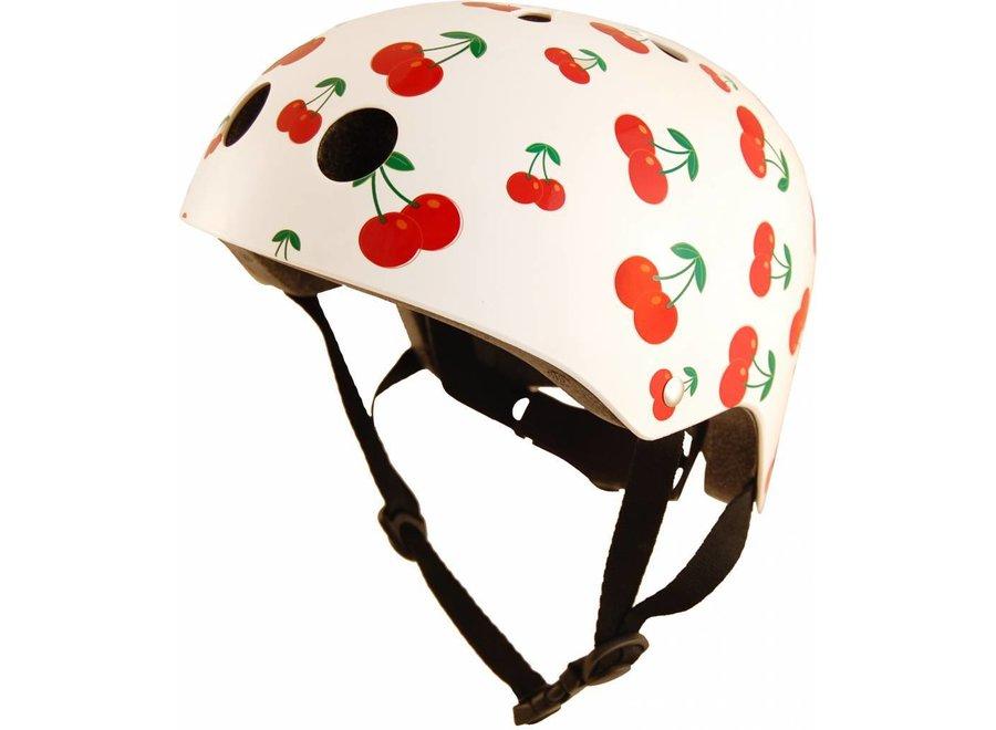 Skate- & fietshelm 'cherry'   Kiddimoto