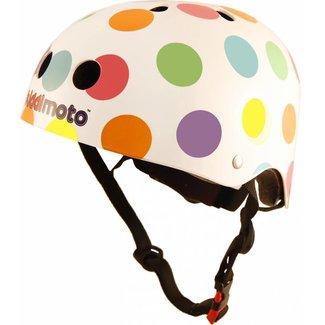 Kiddimoto Skate- & fietshelm 'pastel dotty' | Kiddimoto