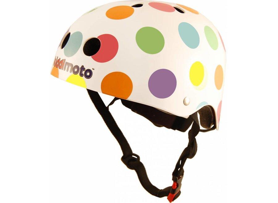 Skate- & fietshelm 'pastel dotty'   Kiddimoto