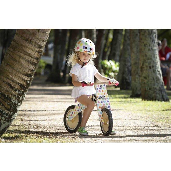 Skate- & fietshelm 'pastel dotty' | Kiddimoto