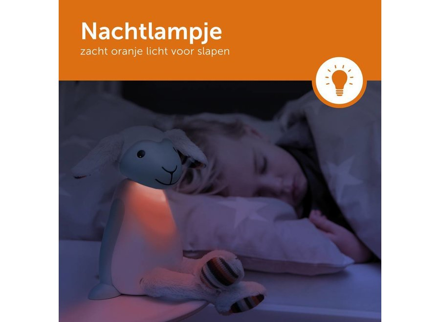 Leeslamp en Nachtlamp FIN grijs | Zazu