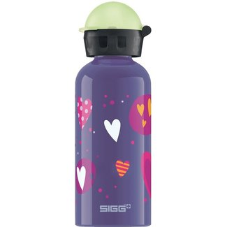 Sigg Drinkfles Hartjes (glow in the dark) 0,4L | Sigg