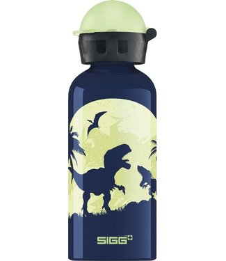 Sigg Drinkfles Glow moon dino's (glow in the dark) 0,4L | Sigg