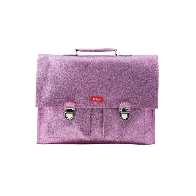 96548235a32 Schooltas bakker made with love glitter roze | koop online - Kids ...