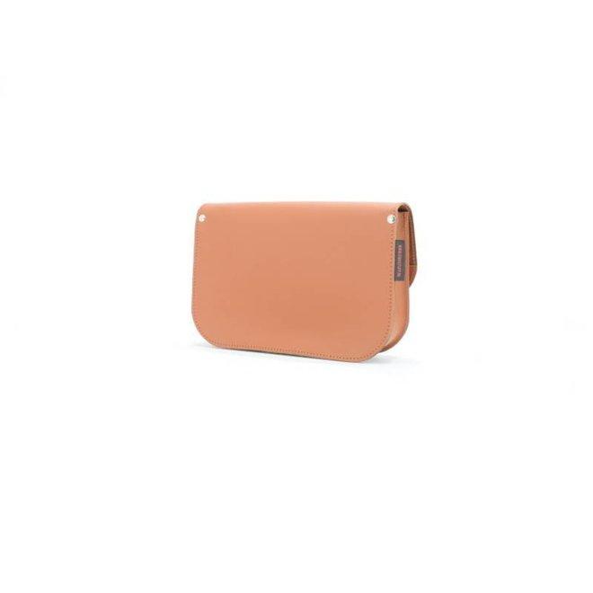 Lederen handtas Roze | Own Stuff