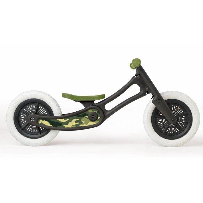 Pimp stickers voor loopfiets recycled edition - Camo   Wishbone Bike