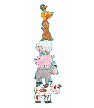 Djeco Puzzel Dieren Daisy & Friends   Djeco