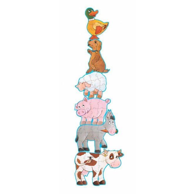 Puzzel Dieren Daisy & Friends | Djeco