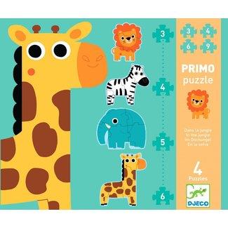 Djeco Puzzel In de Jungle | Djeco