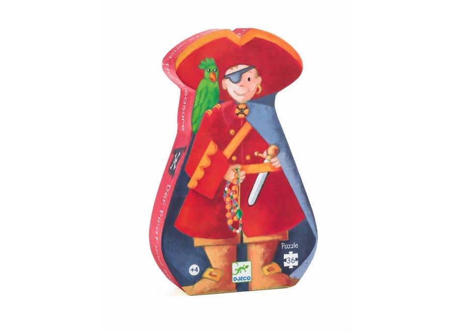 Puzzel De Piraat en zijn Schat | Djeco