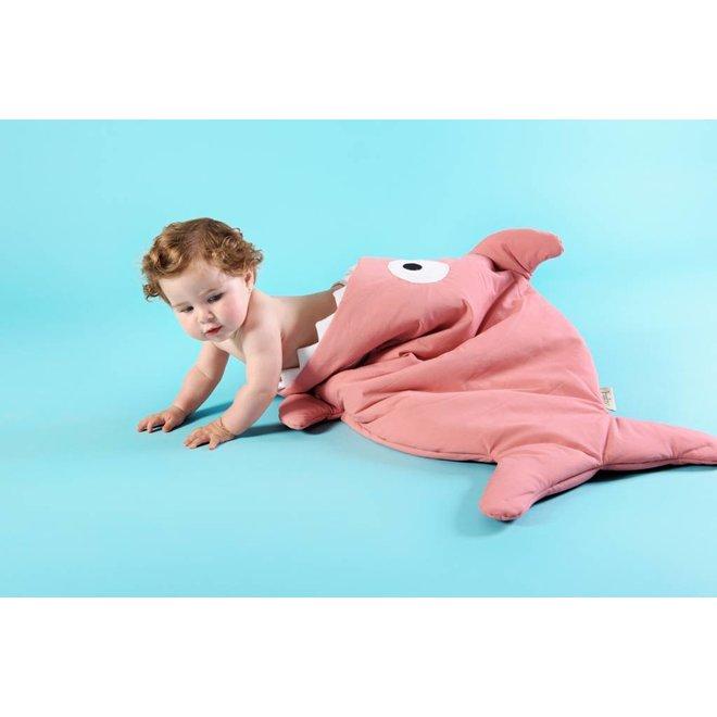 Slaapzak & Voetenzak Haai Pink   Baby Bites