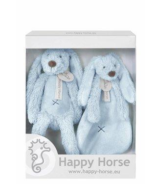 Happy Horse Giftbox Knuffels Konijn Richie Blue   Happy Horse