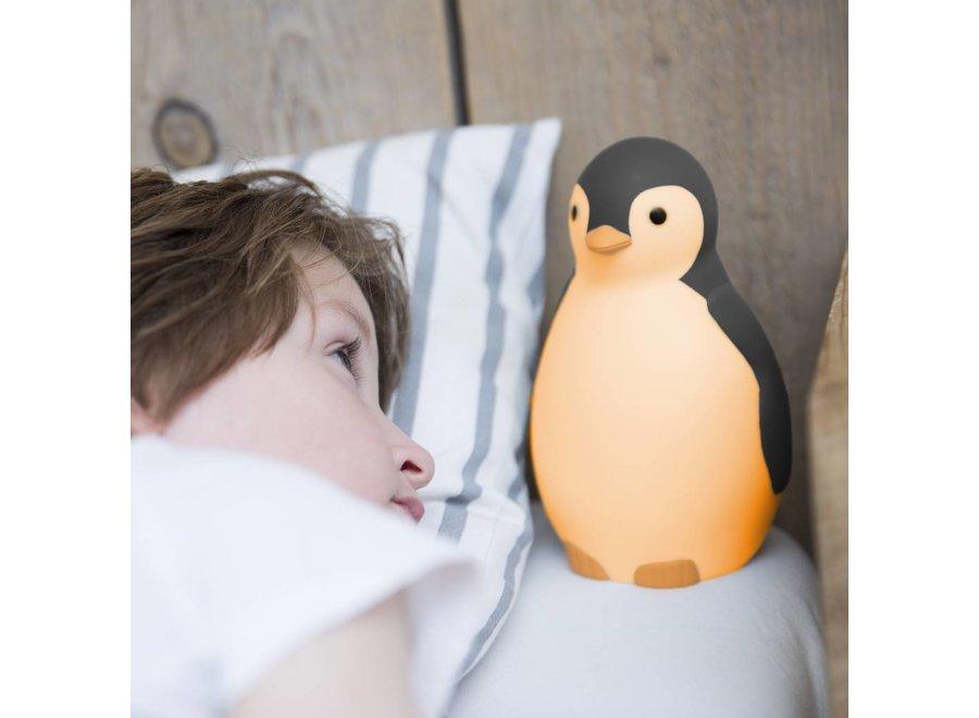 Bluetooth Slaaptrainer Pinguïn PAM Grijs | Zazu