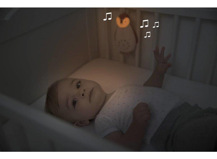 Bluetooth Muziek Box Pinguïn Zoë Grijs | Zazu
