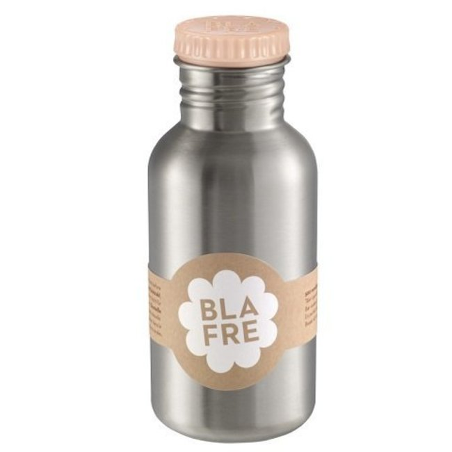 Stalen Drinkfles 500ml Peach | Blafre
