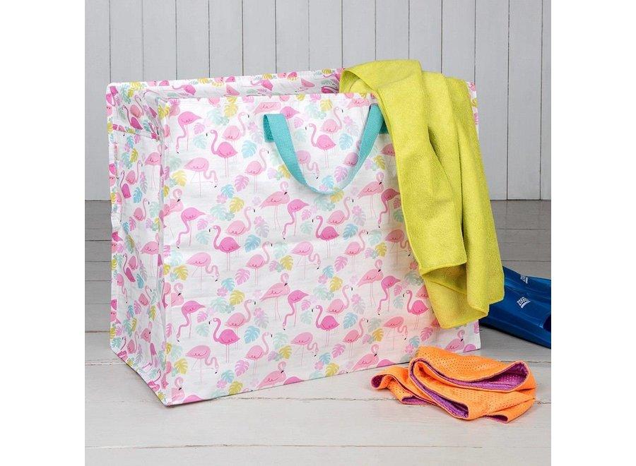Jumbo shopper bag Flamingo Bay - Rex Inter