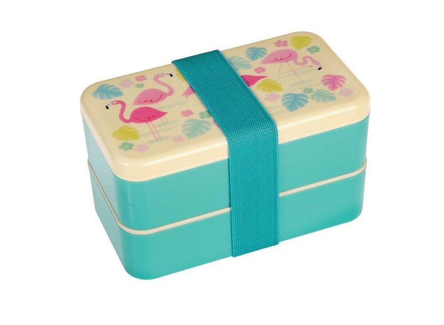Bento Box / Brooddoos XL Flamingo Bay | Rex Inter