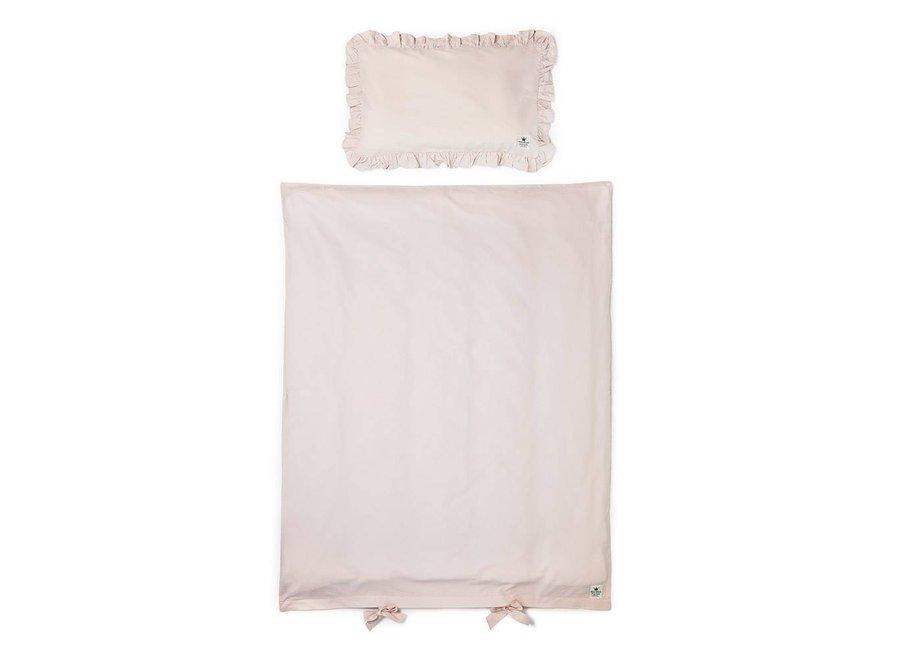 Dekbedovertrek Ledikant Powder Pink   Elodie Details
