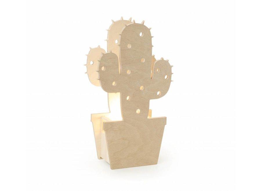 Houten Kinderlamp Cactus  | Miniwoo