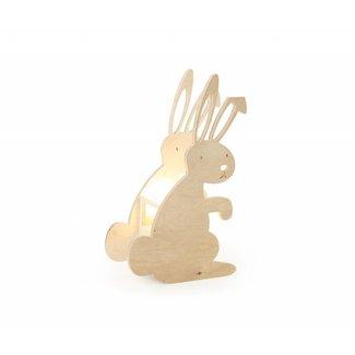 Miniwoo Houten Kinderlamp Konijntje | Miniwoo