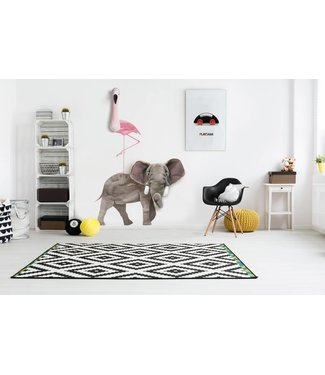Wild & Soft Muursticker Olifant | Wild & Soft