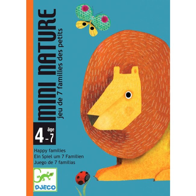 Djeco Djeco | Mini Nature Kwartet